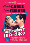 Somewhere I'll Find You DVD