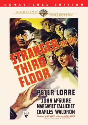 Warner Archive Stranger on the Third Floor DVD-R