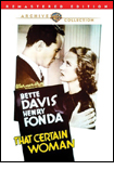 That Certain Woman DVD