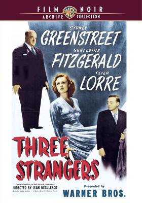Warner Archive Three Strangers DVD-R