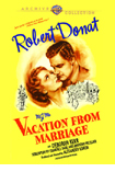 Vacation from Marriage DVD