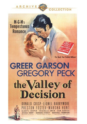 Warner Archive The Valley of Decision DVD-R